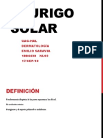 Prurigo Solar