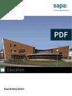 Education portfolio by Sapa Building System - EN