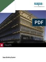 Healthcare portfolio by Sapa Building System - EN