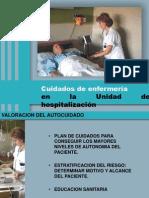Cuidados de Enfermeria en Hospitalizacion