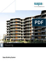Housing portfolio by Sapa Building System - EN
