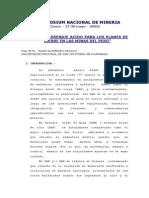 Control de drenaje acido para los planes de cierre en las minas del Per�.pdf