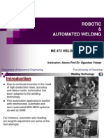 Robotic and Automated Welding