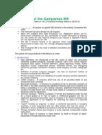 Co's Bill Highlights 2013