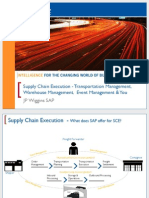 3614 Supply Chain Execution - Transportation Management, Warehouse Management, Event Management and You