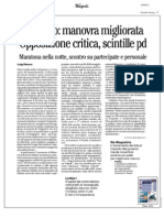 Rassegna Stampa 18.09.2013