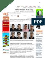 SiteBarra » Agentes presos cobravam até R$ 5 mil por cada celular que entrava em presídio