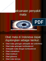 Penatalaksanaan penyakit mata.ppt