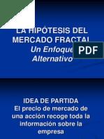 La Hipotesis Del Mercado Fractal