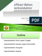 Presentasi Superconductor - Fajar Kurnia