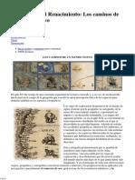 01 Cartografía del Renacimiento_ Los caminos de un mundo nuevo