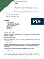 De Morgan's laws - Wikipedia, the free encyclopedia.pdf