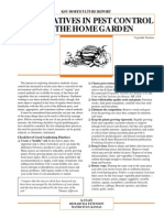 Alternatives in Pest Control