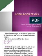 Instalacion de Gas TERMINADO