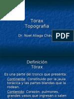topografia 2 de torax