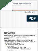 13a_Les compétences fondamentales _ 4 mai 2011