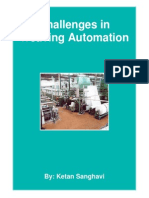 Challenges in Weaving Automation