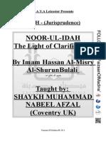 Nur Ul Idah - The Light of Clarification - Ustaadh Shaykh Nabeel Afzal