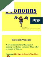 PPT 8.2 - Pronouns