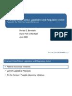 DPW Legis Reg Action 0904