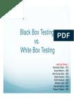 BlackBoxTestingVsWhiteBoxTesting LG1 F
