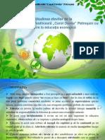 Balan Anca - Atitudinea Elevilor Cu Privire La Educatia Ecologica