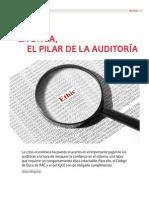 La Ética, el pilar de la auditoría
