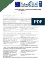 Conferinta MDG