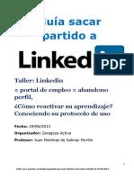 2013 06 24 Guíasacar partido a Linkedin