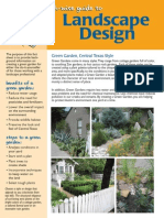 Earth wise guide to Landscaping