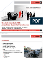 Oracle GoldenGate 101 - Introduction