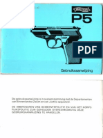 Walther p5 Manual Dutch