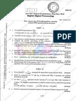Digital Signal Processing May June 10