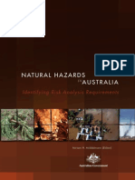 NATURAL HAZARDS in AUSTRALIA. Identifying Risk Analysis Requirements