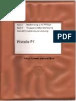 Walther p38 Manual Bundeswehr