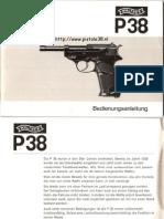 Walther p38 Manual German