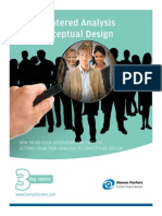 User Centered Analysis and Conceptual Design