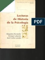 Lecturas de Historia de la Psicología (1-101)