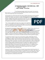 AndhraBank Marketing Eng 5-7-2009
