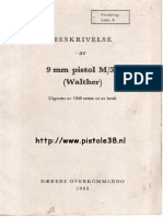 Walther p38 Manual Norwegian