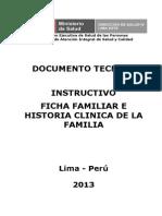 Instructivo Ficha Familiar Para Revisi+_n Huycan Los Domingos