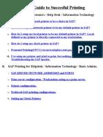 Sap Print Guide