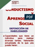 Conductismo y Aprendizaje Social
