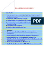 Domestic Air Transport Policy