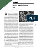 Boaventura Los Nuevos Movimientos Sociales Debates