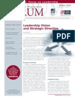 Stratgic Vision