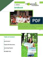frogsleap volunteer handbook