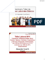 Actualicese Taller Laboral 2011
