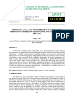 Theoretical Analysis of Compression Ignition Engine Performance Fuelled With