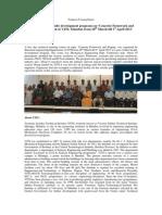 FDP-Technical Training Report